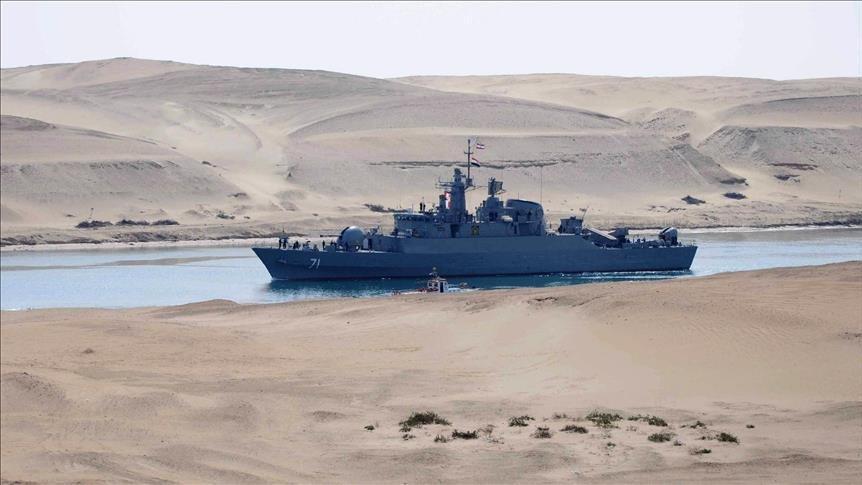 İran yeni savaş gemisini Basra Körfezi'ne indirdi