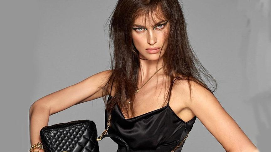 Versace'nin yeni reklam kampanyasına Irina Shayk ve Bella Hadid damgası