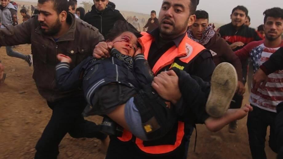 İsrail'in vurduğu 4 yaşındaki Ahmed 4 gün dayanabildi...