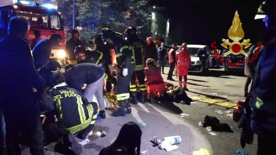 Son dakika! Ortalık savaş alanına döndü! İtalya'da gece kulübünde dehşet: 6 ölü