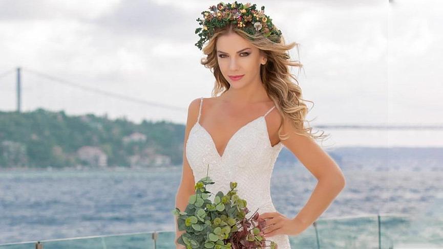 Ivana Sert bir gelinlik markasının yüzü oldu