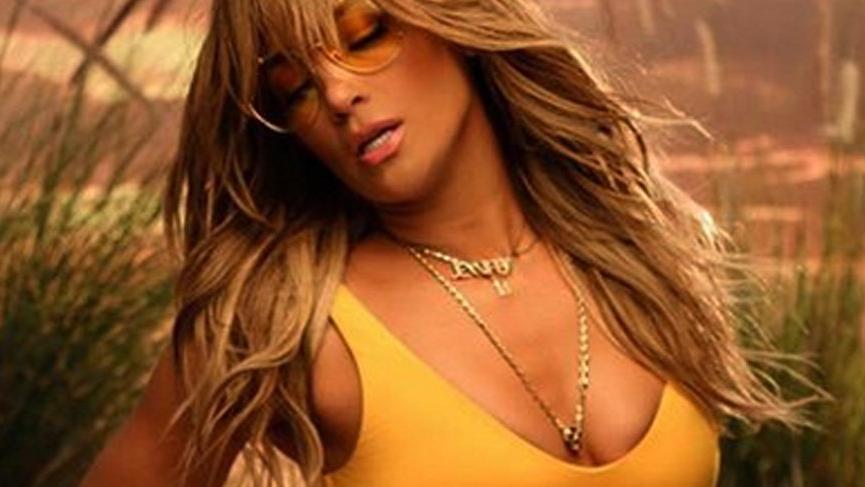 Jennifer Lopez'den yılbaşı dansı