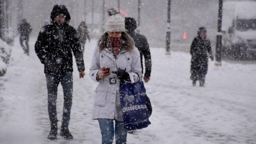 Okullara kar tatili! Hangi illerde okullar tatil edildi? İşte kar tatili ilan edilen iller…