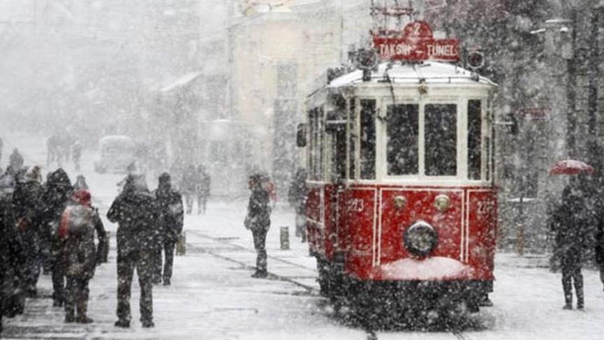 Meteoroloji'den hava durumu uyarısı: İstanbul için kar göründü, tüm yurtta yağacak