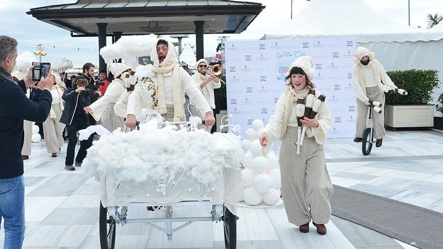 'Kış Şehri'nde coşkulu festival