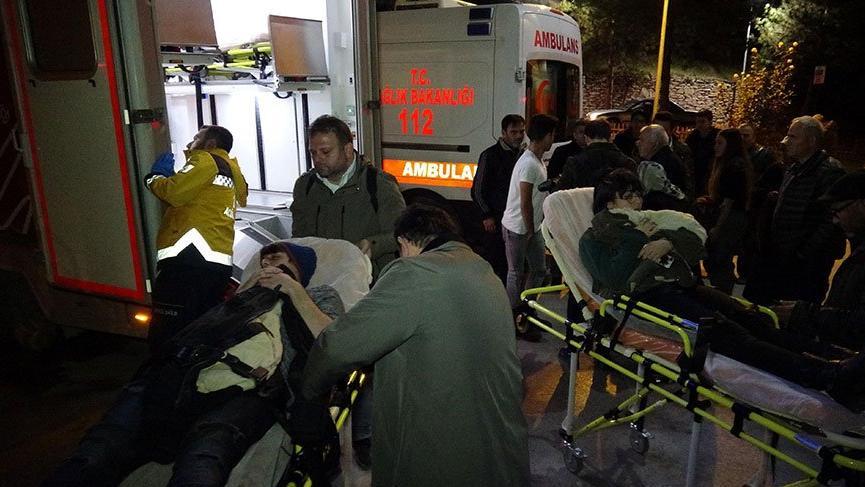 Karabük'te karbonmonoksit zehirlenmesi şüphesi! 11 öğrenci hastanelik oldu
