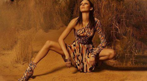 Kendall Jenner ünlü markanın yüzü oldu Mert Alaş fotoğrafları çekti