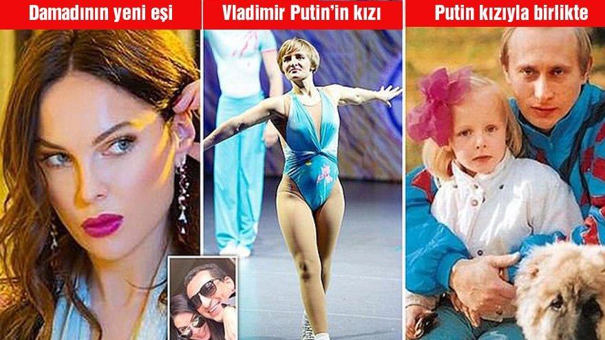 Putin'in kızı boşandı… Eski damadı mankenle evlendi