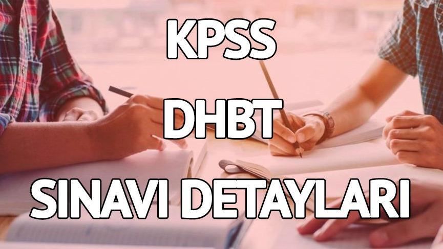 ÖSYM KPSS DHBT giriş yerlerini açıkladı! KPSS DHBT giriş belgesi sorgulama ekranı…
