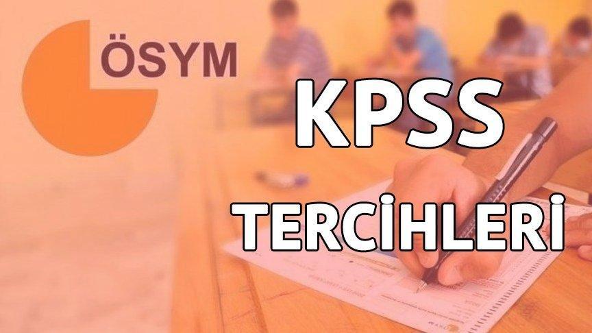 2018 KPSS tercihlerinde son günler! KPSS tercihleri nasıl yapılacak?