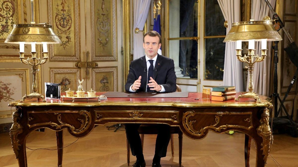 'Zenginlerin başkanı değilim' dedi ama... Macron'u 'altın oda' yaktı