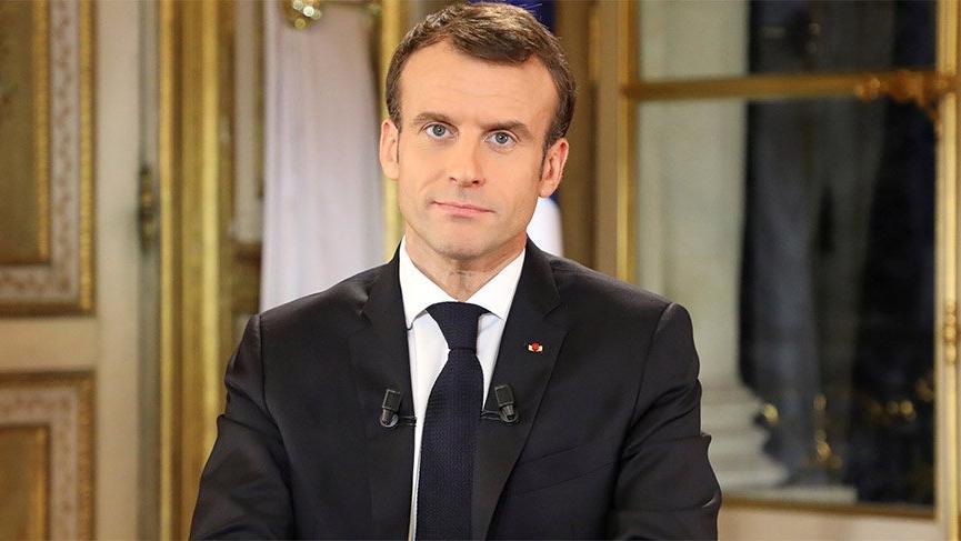 Son dakika... Macron sarı yelekli eylemlerden sonra TV karşısına geçti