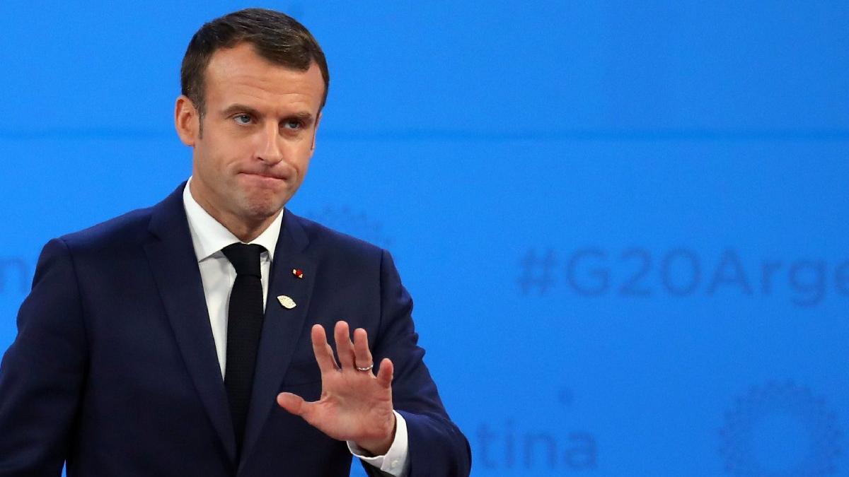 Gözler 22:00'de... Macron gösterilerin ardından ilk kez konuşacak