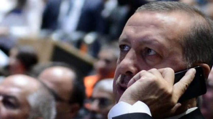 Cumhurbaşkanı Erdoğan, Mahmut Abbas ile görüştü