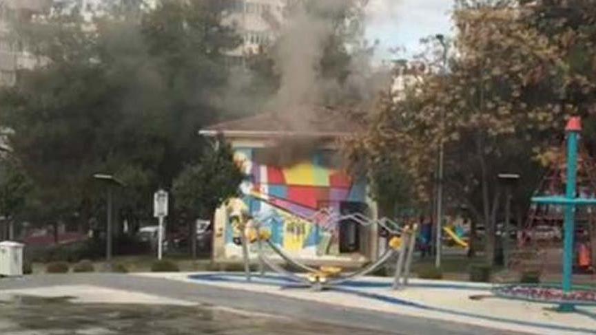 Çocuk parkında korkutan patlama sesleri!