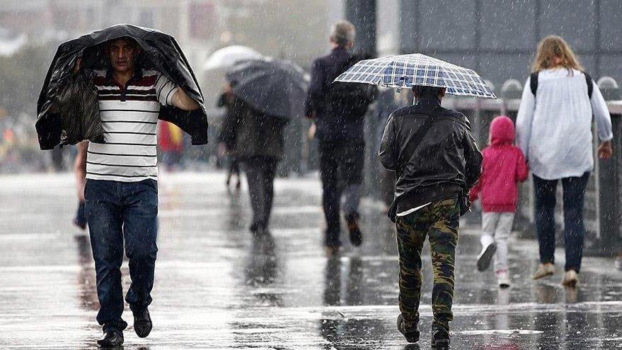 Meteoroloji'den kuvvetli yağış uyarısı! Son hava durumu verileri…