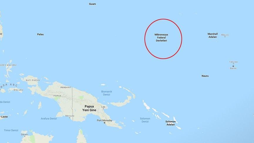Son dakika… Mikronezya 7.6'lık depremle sarsıldı… Tsunami uyarısı yapıldı