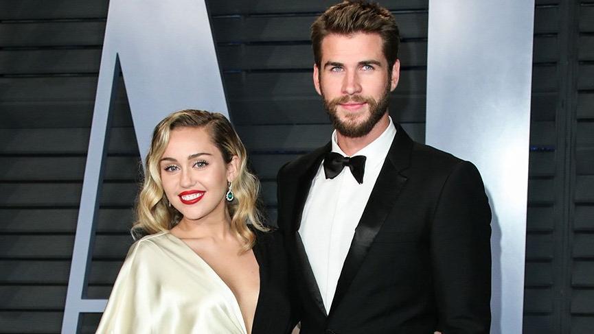 Miley Cyrus ile Liam Hemsworth evlendi