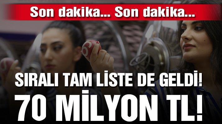 2019 Milli Piyango çekiliş sonuçları açıklandı! Dev ikramiye İstanbul'a vurdu!
