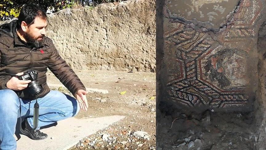 Herkes 'Çingene Kızı'nı konuşurken İznik'te üzerine beton dökülen mozaik unutuldu