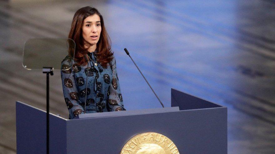 IŞİD'in işkencelerinden Nobel'e… Nadia ödülünü nasıl kullanacağını açıkladı