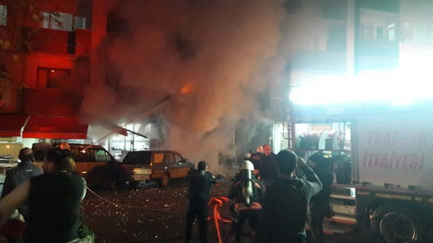 Son dakika haberi... Trabzon'da bir iş yerinde patlama! 3 yaralı...