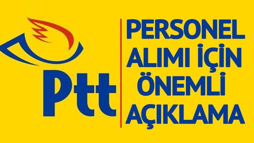 KPSS şartsız PTT personel alımı başvuruları ertelendi! PTT personel alımı başvuru şartları neler?