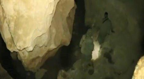 Tunceli'de teröristlerin mağaradaki görüntüleri ortaya çıktı