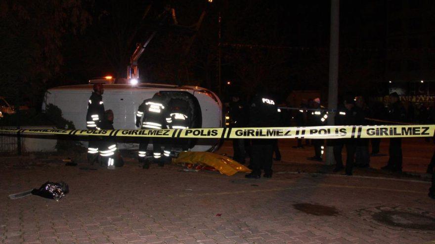 Polisin şehit olduğu kazada çarpan aracın hızı 135 kilometreymiş