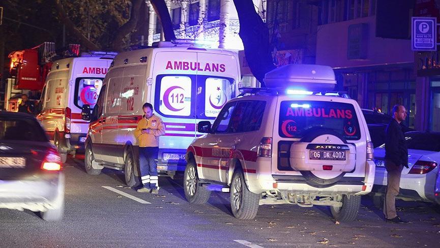 Son Dakika... Ankara'da doğalgaz hattında patlama