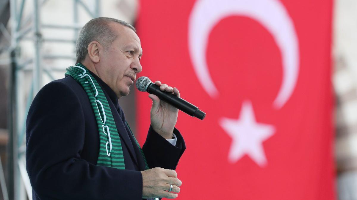Erdoğan: Trump'la da bunları görüştük, kendileri de olumlu cevapları verdi