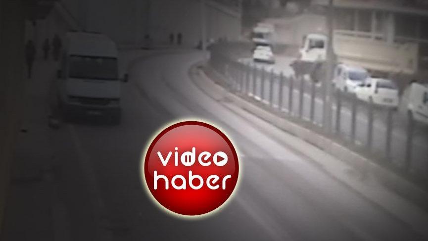 Rize'de anne ve kızının hayatını kaybettiği korkunç kaza kamerada