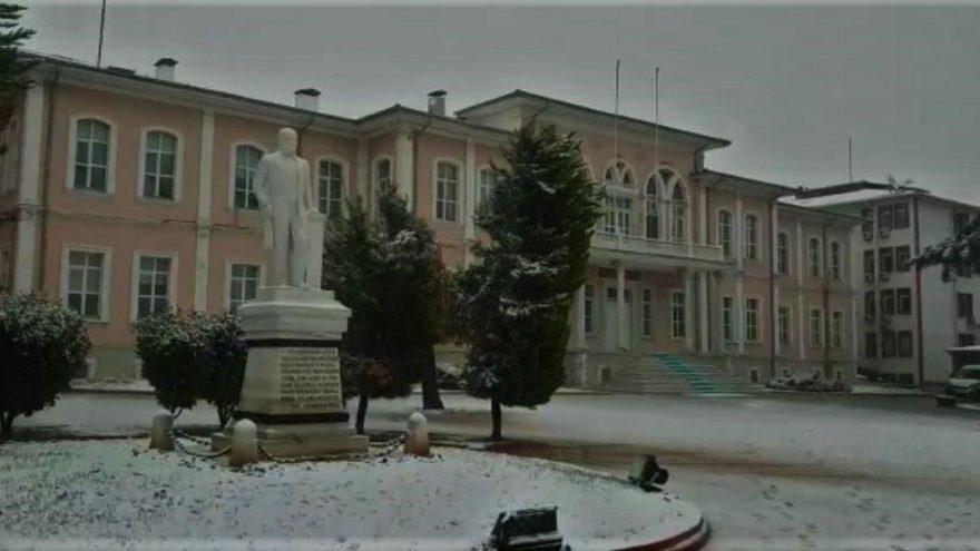 Tekirdağ'da okullara kar tatili