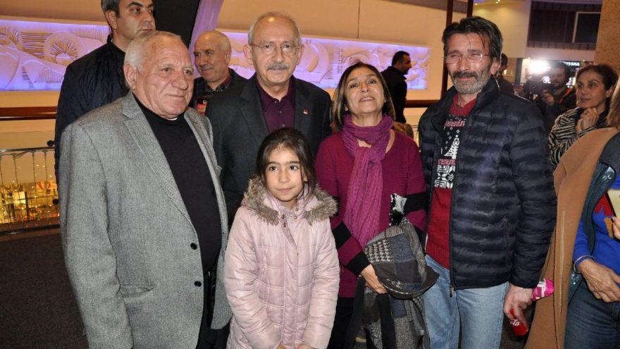 Kılıçdaroğlu çifti, 'Müslüm' filmini izledi