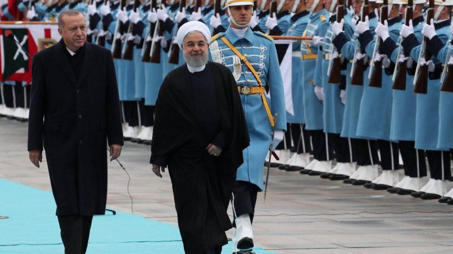 Ruhani, Cumhurbaşkanı Erdoğan'la bir araya geldi