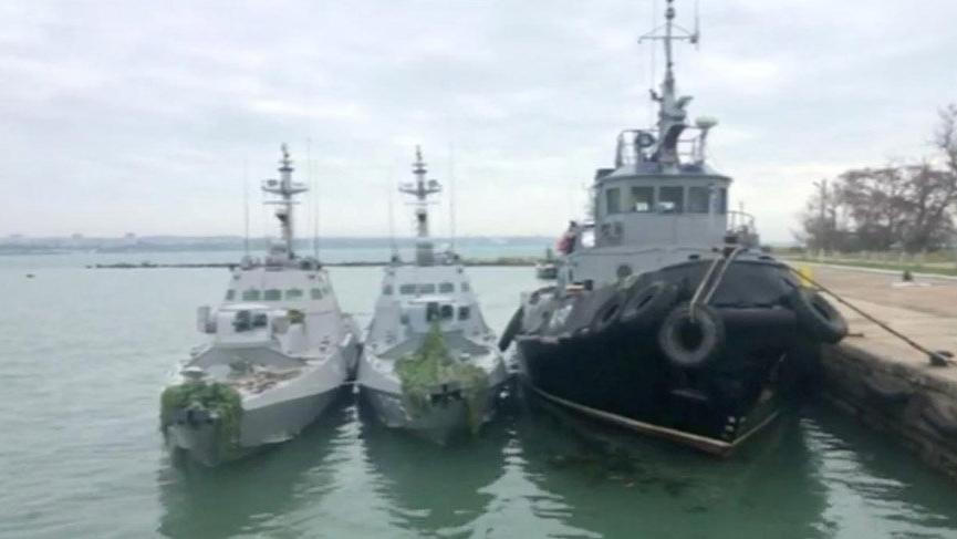 Karadeniz'de ikinci kriz! Ukrayna savaş gemileri yola çıktı