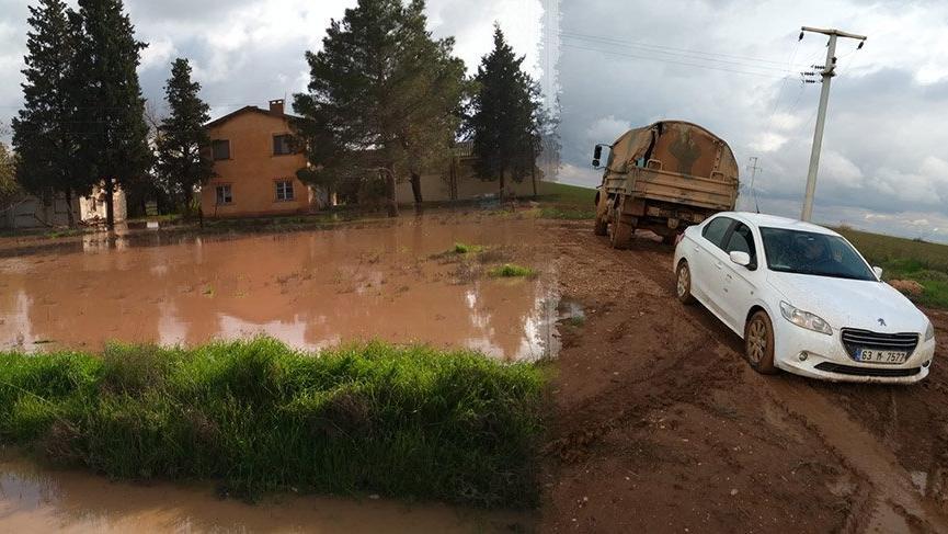 Şanlıurfa'da sel sularında mahsur kalan 10 asker kurtarıldı
