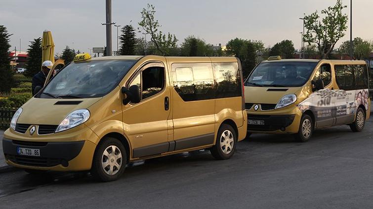 Taksi dolmuş ve minibüslerde yeni uygulama