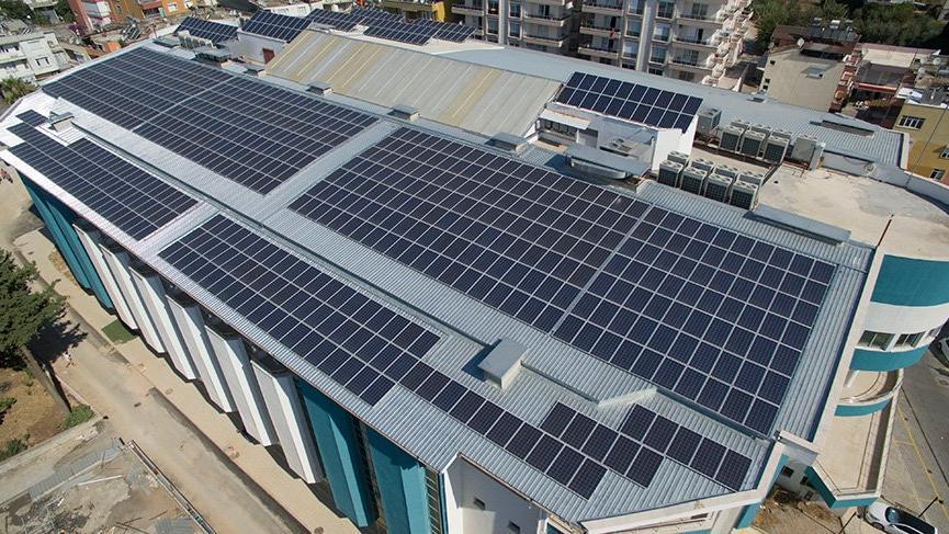 Serik Belediyesi güneş enerjisiyle 115 Bin TL ek gelir sağladı