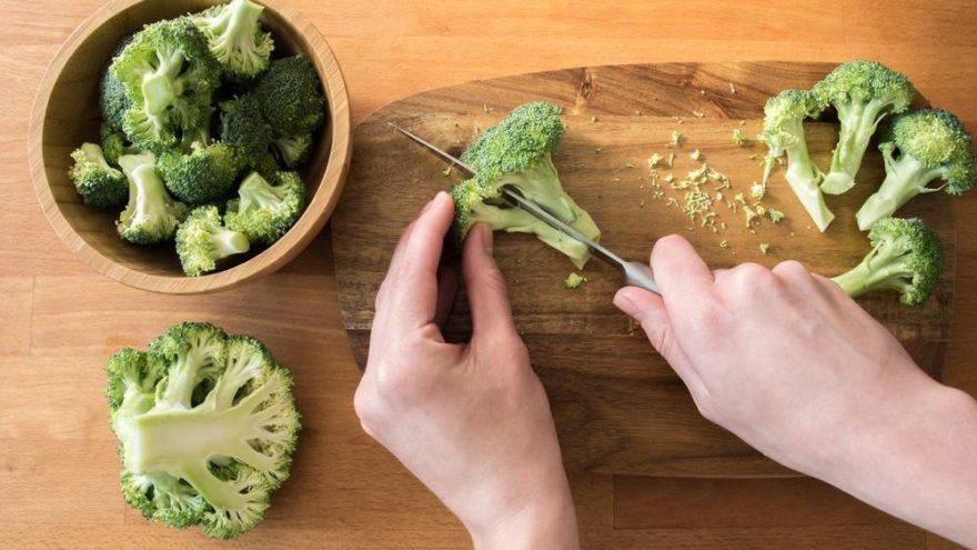 'Brokoliyi suda haşlayarak tüketmeyin'