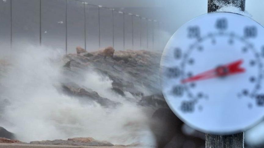 Yağmur, soğuk, fırtına! Meteoroloji'den birçok şehre son dakika uyarısı...