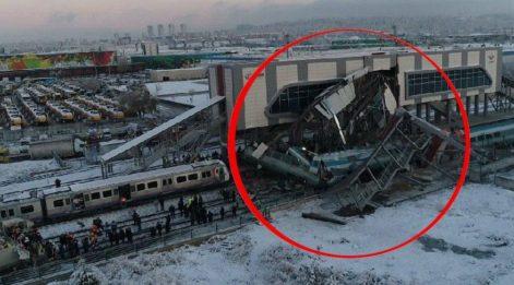 Resmi açıklama geldi: Ankara'da Yüksek Hızlı Tren kılavuz trenle çarpıştı! Dokuz kişi hayatını kaybetti, 47 yaralı var