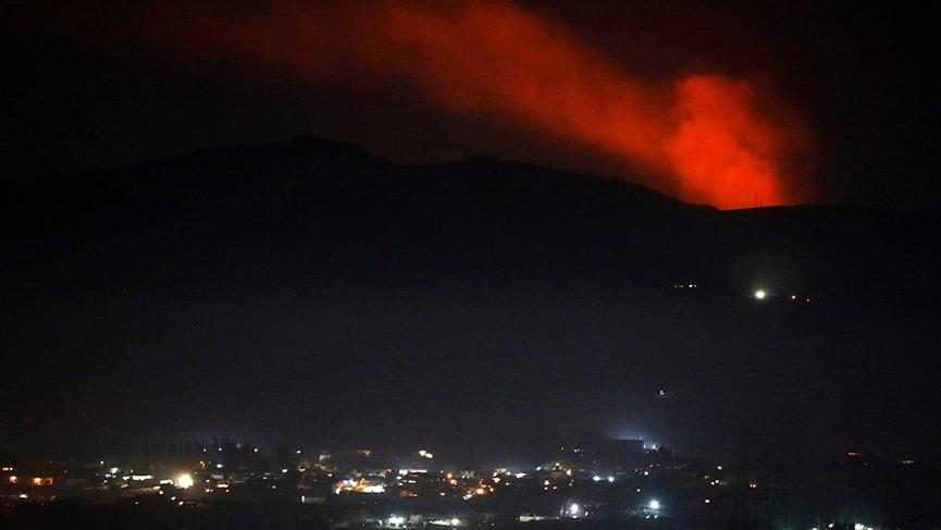 İsrail ordusu: Suriye'den atılan uçaksavar füzesi imha edildi