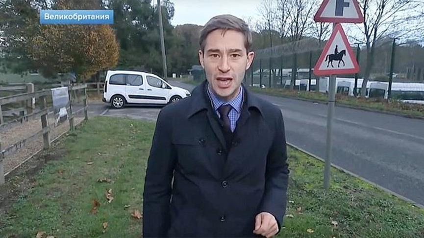 Rus gazeteci İngiliz askeri üssünü alarma geçirdi! Açıklama geldi