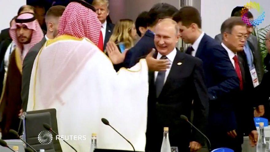 Putin'in Selman'la samimi görüntüsüne ilk yorum geldi