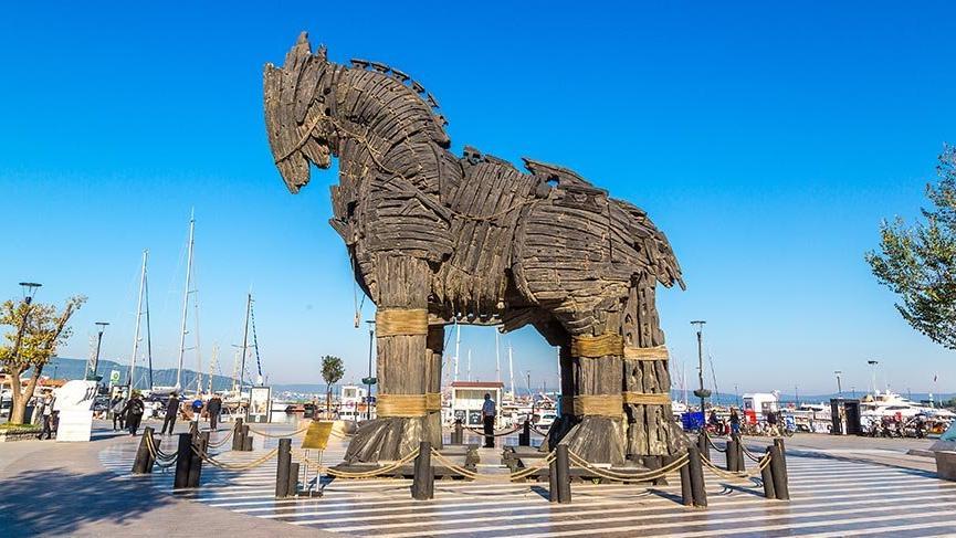 Troya Antik Kenti'ne 512 bin 776 ziyaretçi