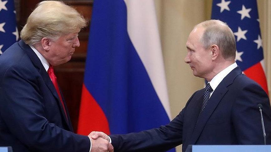 Trump, Putin ile 'gayriresmi' görüştü!
