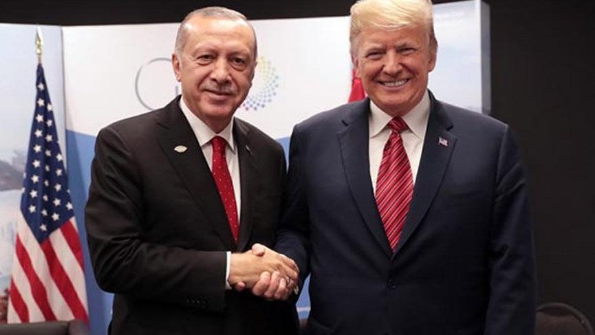 Trump çekilme öncesi Erdoğan'ı bilgilendirdi