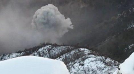 Mağaranın krokisi çıkartılıp savaş uçaklarıyla vuruldu