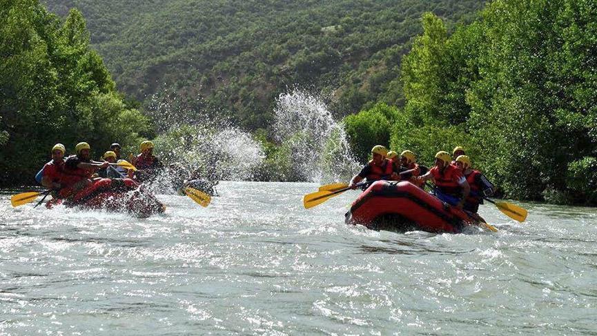 2019 Dünya Rafting Şampiyonası Tunceli'de yapılacak